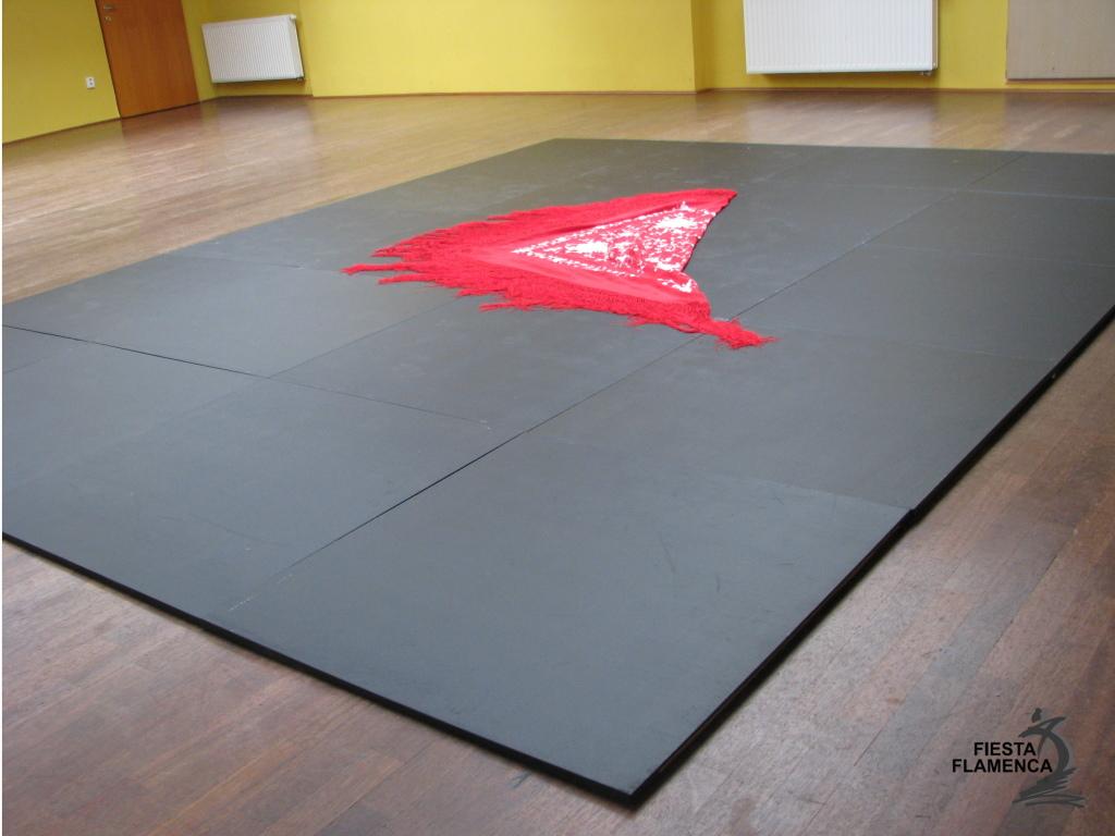 flamenková podlaha