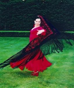 s tanečnicí Luciou Čellárovou