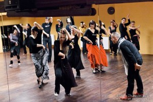 trénink s choreografem